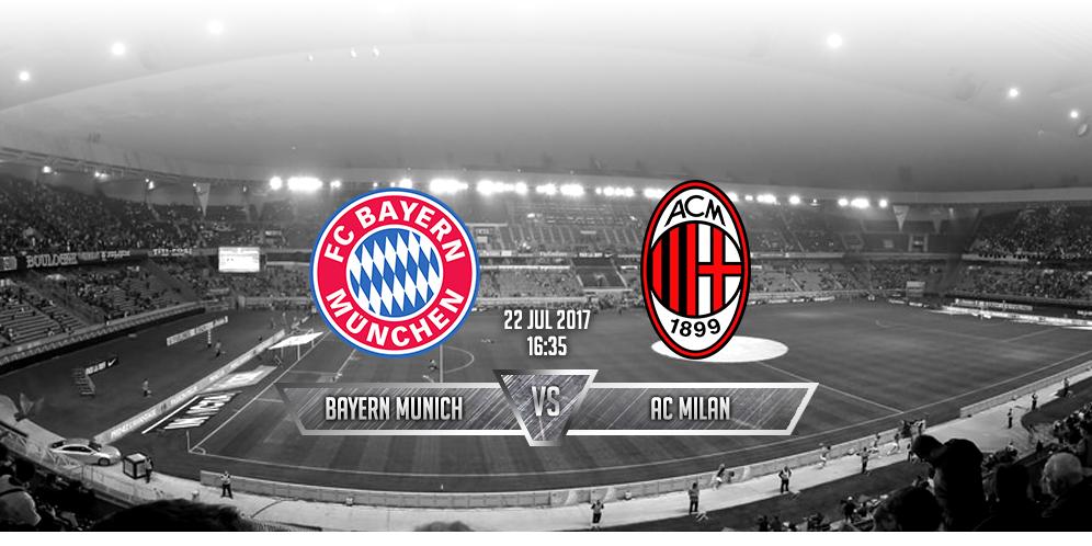 Prediksi Bayern Munchen VS Milan 22 Juli 2017