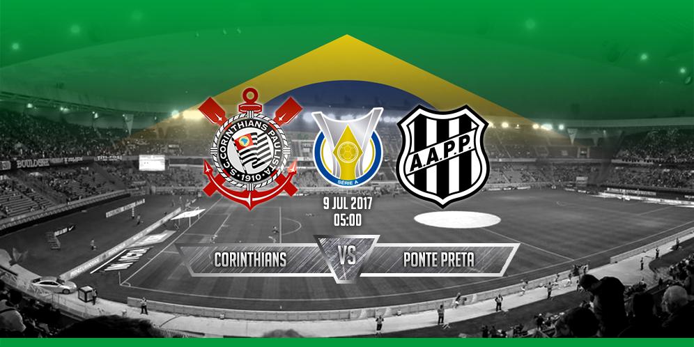 Prediksi Corinthians VS Ponte Preta 9 Juli 2017