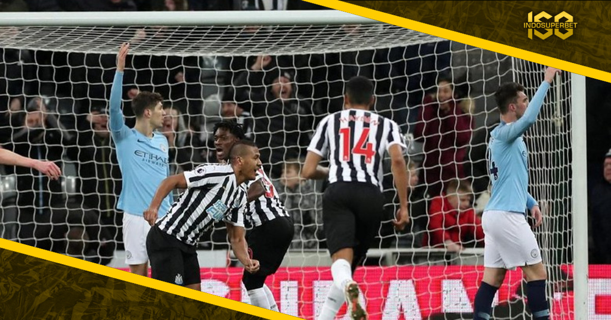 City Tumbang di Kandang Newcastle