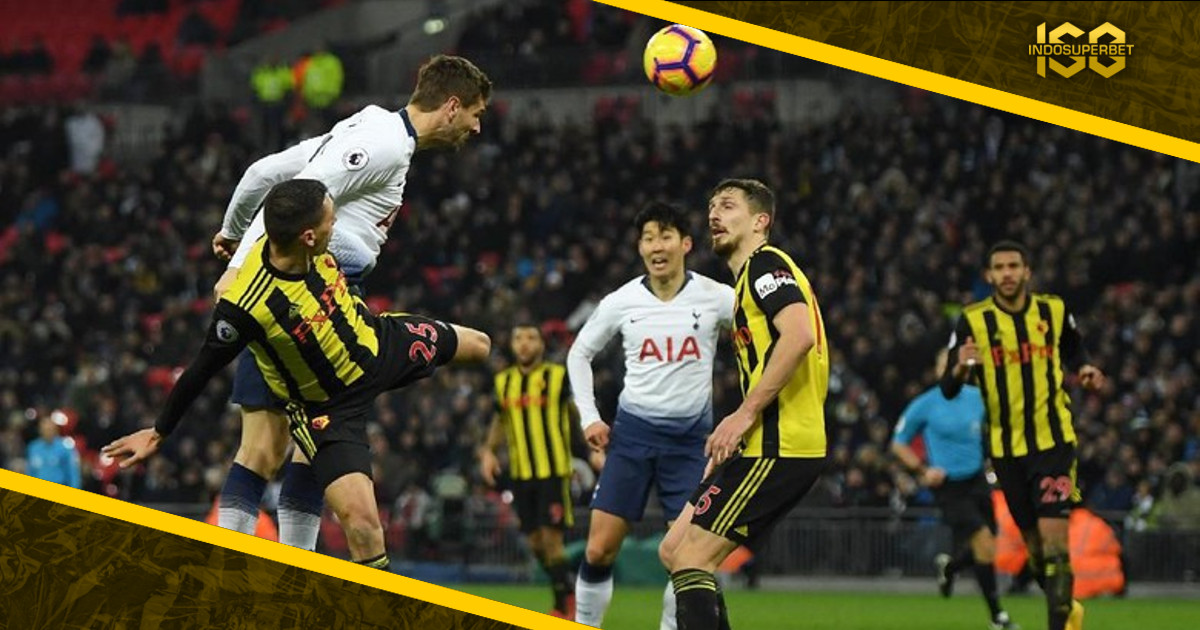Comeback, Tottenham Kalahkan Watford 2-1