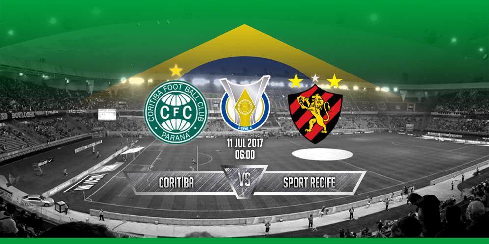 Prediksi Coritiba VS Sport Recife 11 Juli 2017