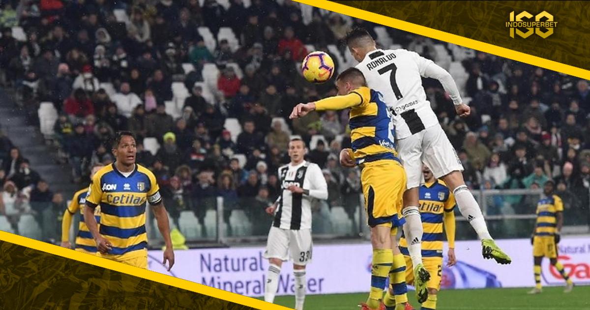 Dramatis! Juventus Diimbangi Parma dengan Gol Injury Time