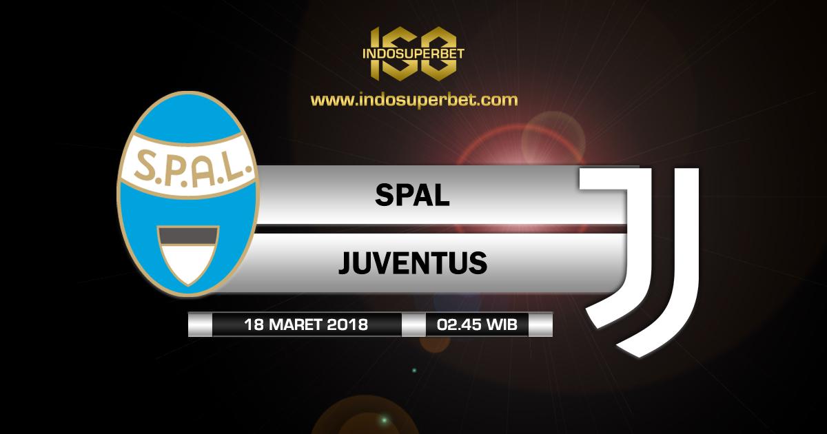 Prediksi SPAL vs Juventus 18 Maret 2018