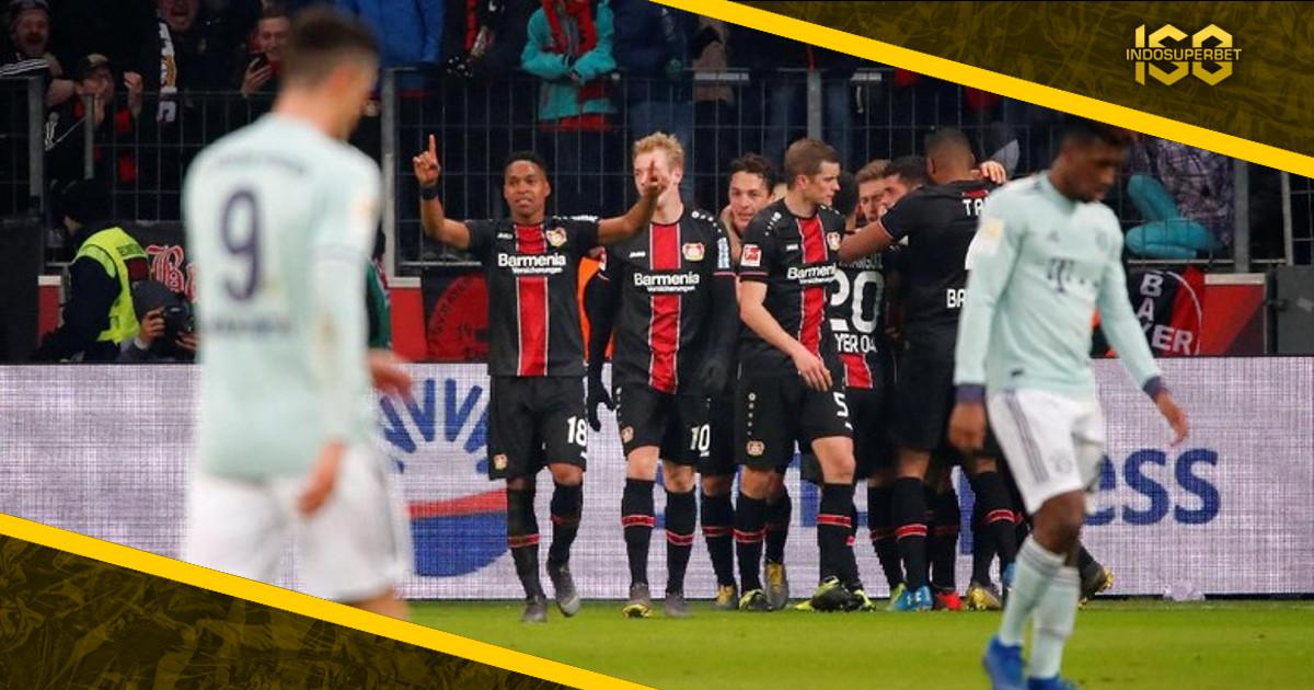Sempat Unggul, Bayern Digebuk Leverkusen 1-3