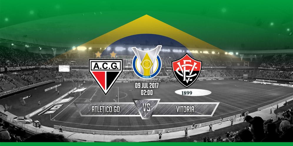 Prediksi Atlético GO VS Vitória 9 Juli 2017