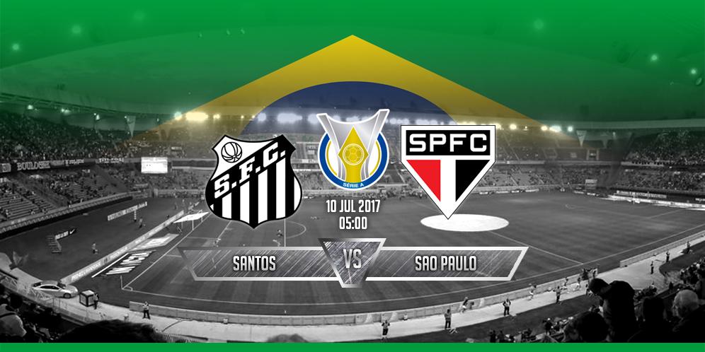 Prediksi Santos VS Sao Paulo 10 Juli 2017
