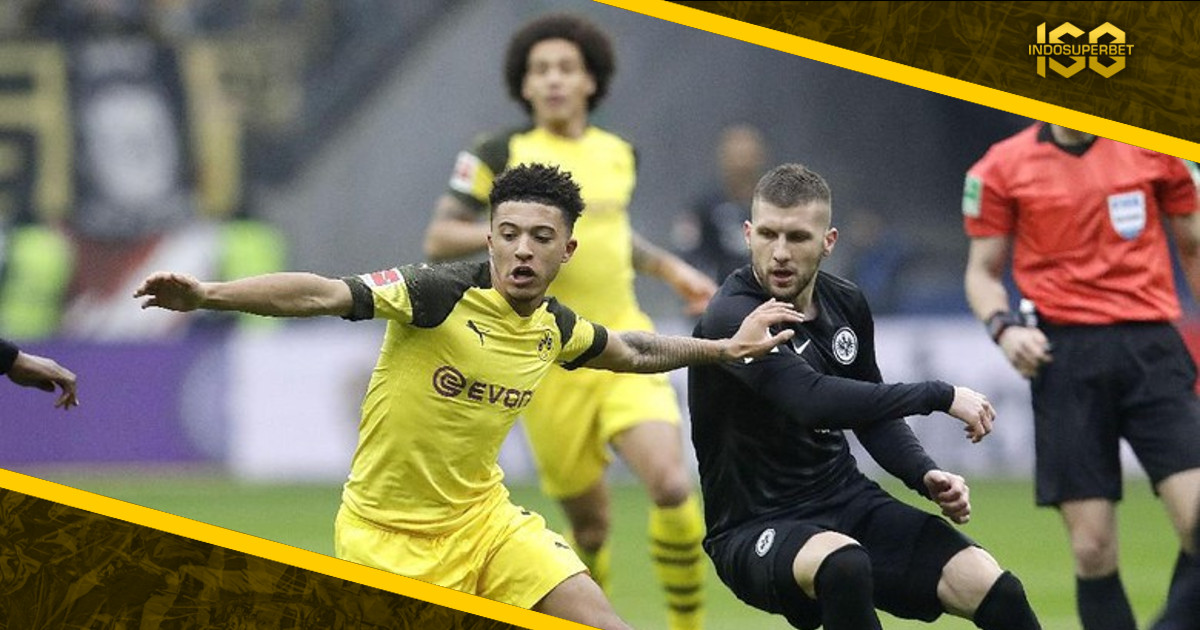 Dortmund Diimbangi Eintracht Frankfurt 1-1